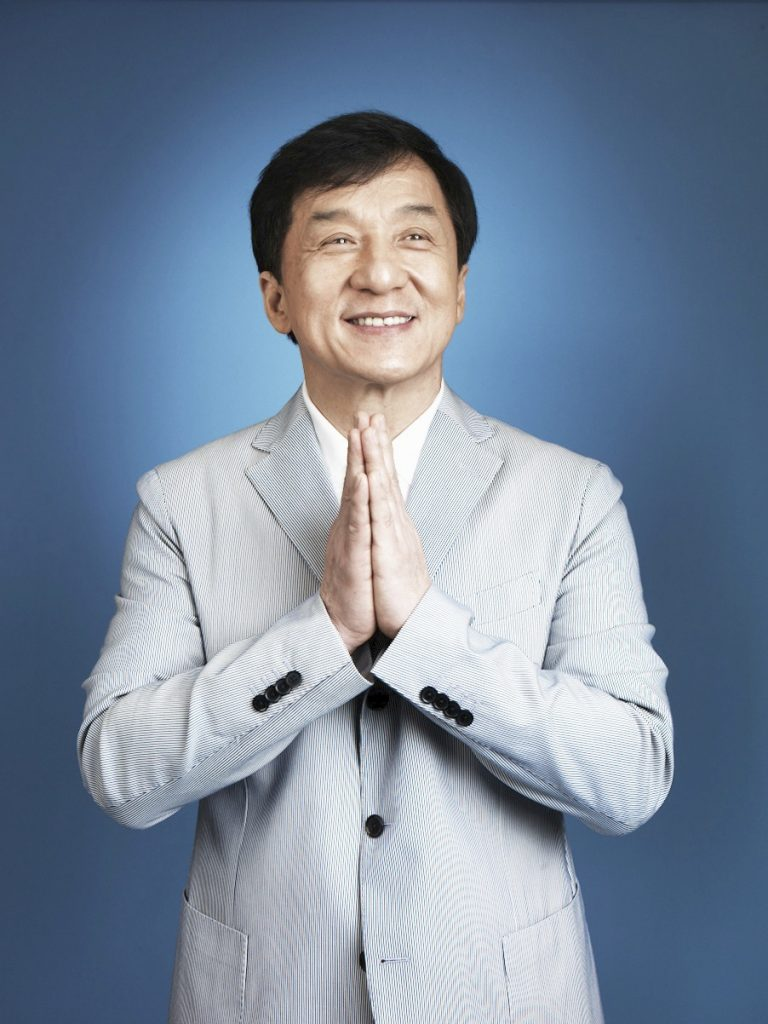 Jackie Chan, photographed at the Montage Beverly Hills Hotel, June 3, 2015. Photographer: Ethan Pines. Photo assistant: Joe Coonan.