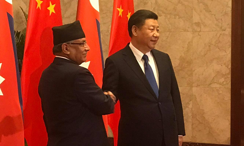 Prachanda-And-Xi-meet